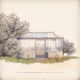 [ keke ] old garden greenhouse . white (mesh)