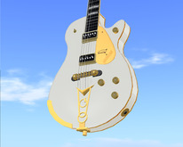 Similar to Gretsch G6134 White Penguin // Scripted, Mocap Animated, Riffs, Record or Load Songs, Stool