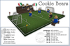 """Sway's Cookie Bears """"SOCCER - ITALY"""""""