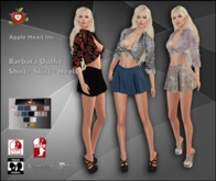 Apple Heart Inc. Barbara Outfit with Hud