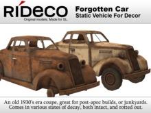 RiDECO - Forgotten Car