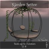 *~ by Nacht ~ Garden Settee