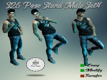 s26 pose stand male set4