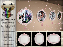 [PR] Sakura Round Frames - Pink (Boxed)