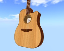 Similar to Takamine EAN-10C Guitar  // Scripted, Mocap Animated, Riffs, Record or Load Songs, Stool