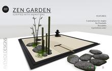 .:: AM ::.  Zen Garden Complete Set - Scripted with 5 animations - No Poseballs
