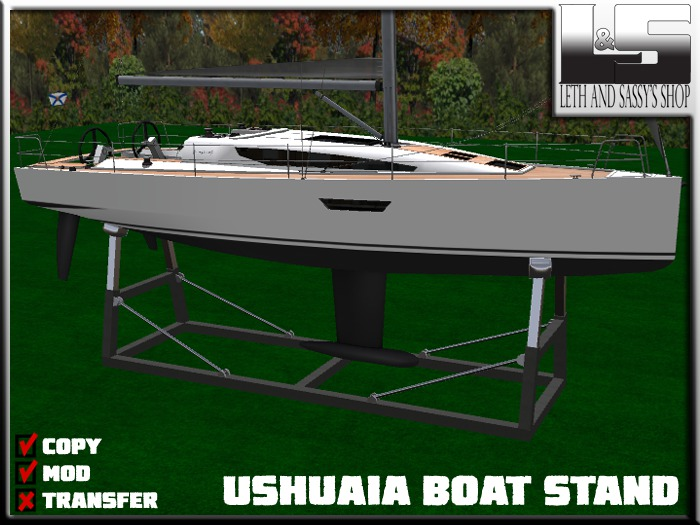 L&S - Ushuaia - Boat Stand