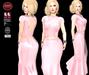 M&M-SILVIA DRESS PINK-MAR17