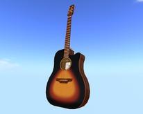 Similar to Takamine EAN-10C Sunburst Guitar  // Scripted, Mocap Animated, Riffs, Record or Load Songs, Stool