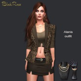 BlackRose Alanis Outfit Leopard