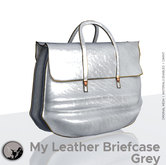 *PC* My leather briefcase Grey
