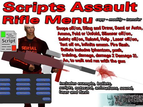 Assault Rifle Script