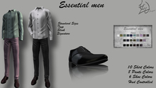^TD^ Essential Men Set Fatpack TMP,Slink,Signature,Standard Sizes