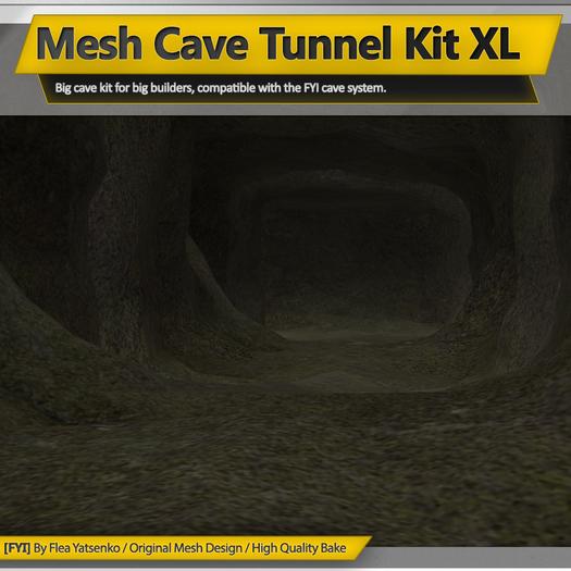 [FYI] Mesh Cave Tunnel Kit XL 1.0.0
