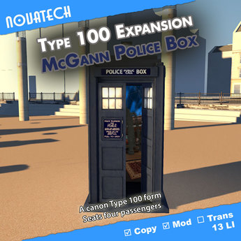 Type 100 Form - McGann Police Box