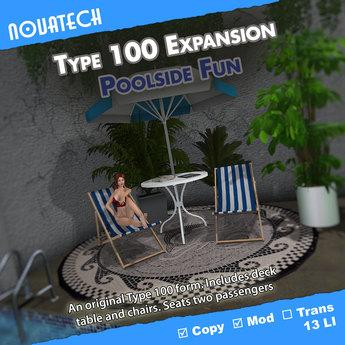 Type 100 Form - Poolside Fun