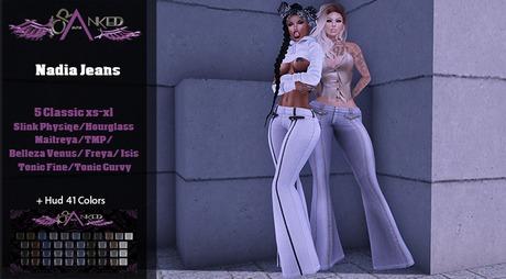 #Cranked# Nadia Jeans