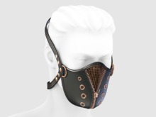 ::OESSO::Mens Leather Mask