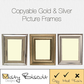 Trio of Copyable Photo Frames ~ Add Your Own Photo