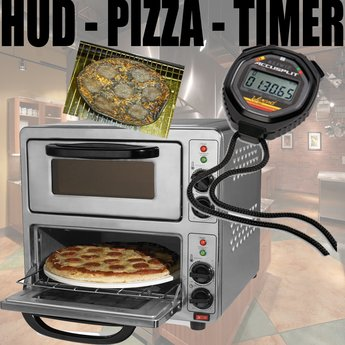 PIZZA TIMER HUD / Never forget RL things again ;)