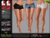 Edita Female Hot Belted Shorts Pants - Maitreya Lara, Slink Physique Hourglass, Belleza - DreamLife - FashionNatic
