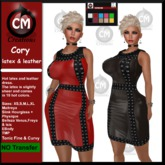 ! CM Creations, Cory Latex & Leather