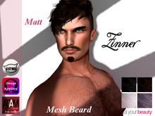 >Zinner< Matt Mesh Mustache (PACK)