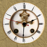 Wall Clock, Old, 1 prim, mod trans