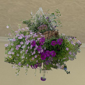 Hanging Basket 1 (only 1 prim!)