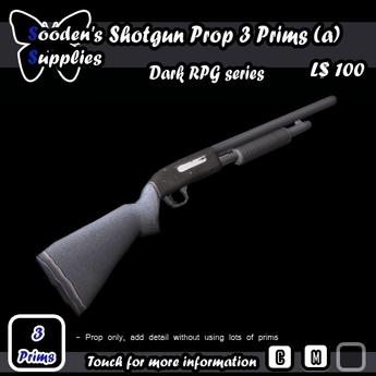 Shotgun Prop 3 Prims a