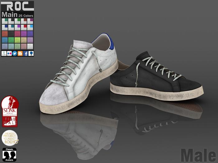 ::ROC:: Sneaker! Dirty (MALE)