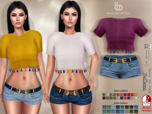 Bens Boutique - Alvina Shirt & Short - Hud Driven Maitreya,Slink(all),Belleza(all)