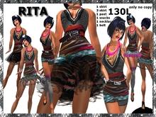 EB Atelier- RITA OUTFIT DISCOUNT -Wear it quickly- italian designer