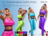 -JL- Cheyenne Sporty Outfit (HUD) for Maitreya, Slink (all), Belleza (all), Tonic (all), eBody