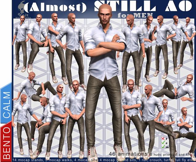 Voir - BENTO (Almost) STILL AO for MEN