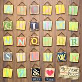ASO! Alphabet wood (T)