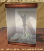 HHVET Victoriana - Milksnake Pet Terrarium