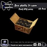 Box shells 24 open