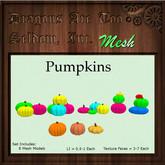 DATSI Mesh - Pumpkins Set