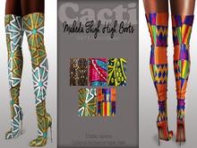 Cacti - Makeda Thigh High Boots