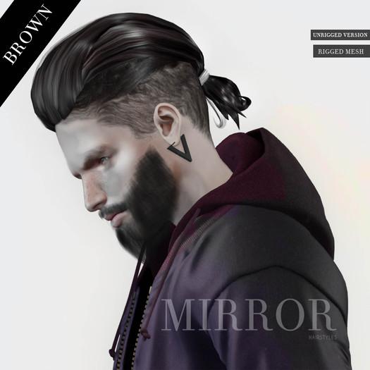 MIRROR - Odin Hair -Brown Pack-