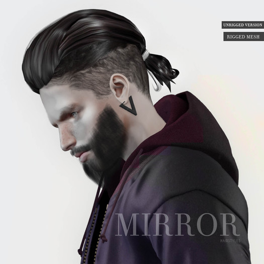 MIRROR - Odin Hair -ALL COLORS HUD- -DEMO-