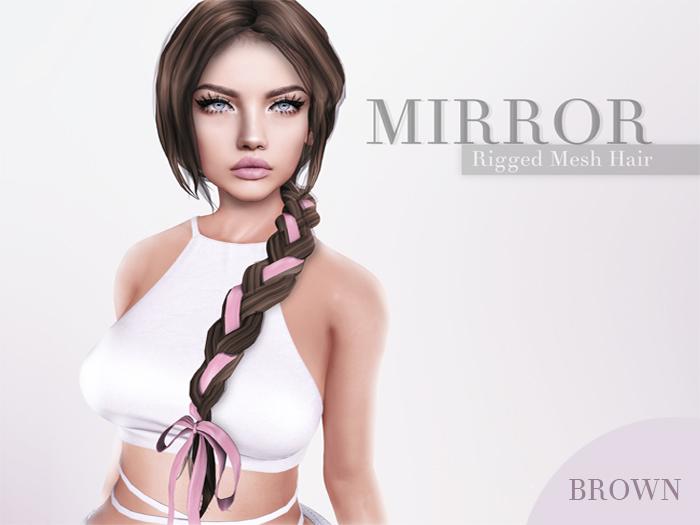 MIRROR - Claire Hair -Brown Pack-