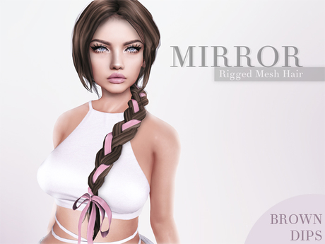 MIRROR - Claire Hair -BrownDIPS Pack-