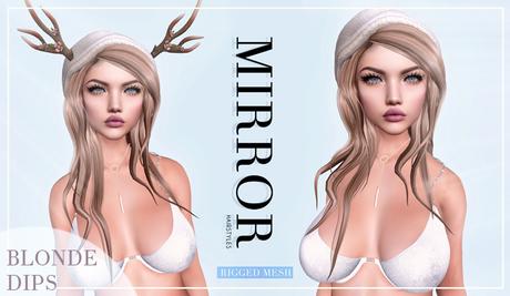 MIRROR - Nicole Hair -BlondeDIPS Pack-