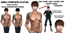 Gladly Creations :: Full Avatar F + Outfit