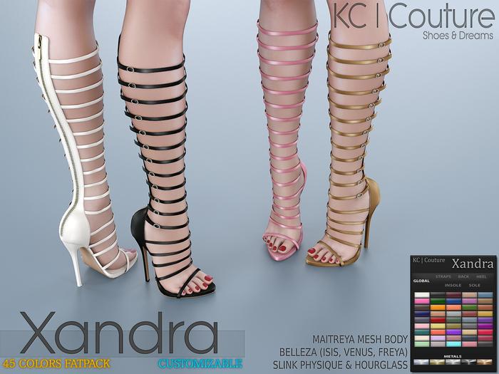 -KC- XANDRA BOOTS / MAITREYA, BELLEZA, SLINK HOURGLASS & PHYSIQUE