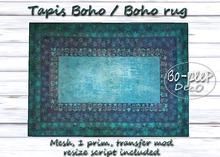 Tapis Boho / Boho rug