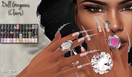 ~GD~Doll Gorgeous(Claws) - Vista Bento PROHANDS