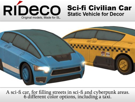 RiDECO - Sci-fi Civilian Car